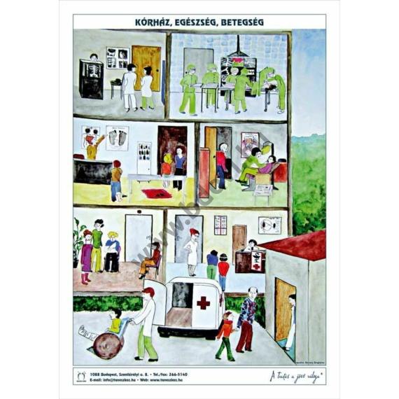 Iskola és tanulás 1 db 60 x 85 cm