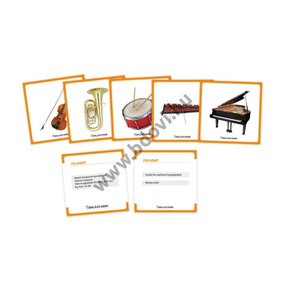 EARL feladatkártya hangszerek