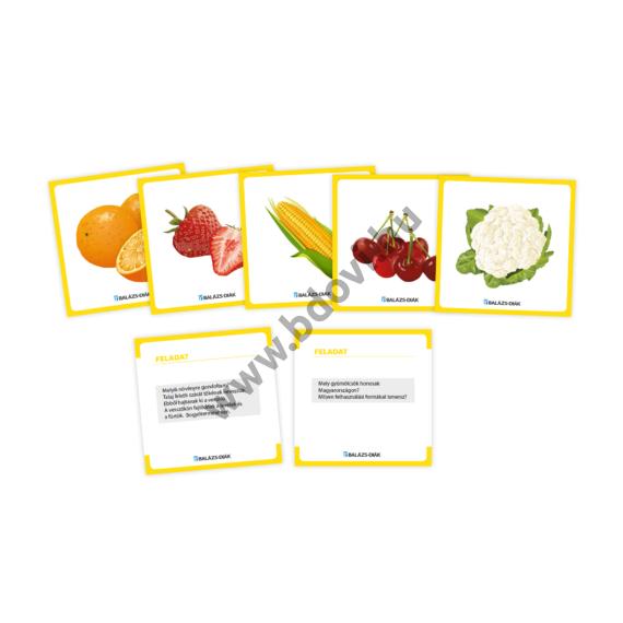 EARL feladatkártya zöldség- gyümölcs