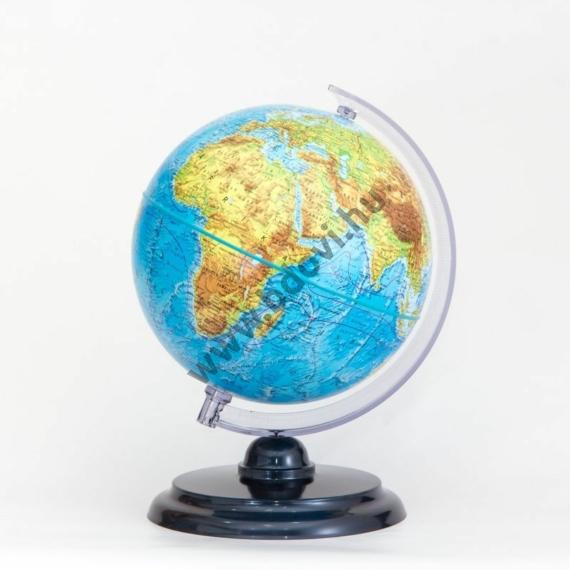 Földgömb, hegy-vízrajzi, normál 25 cm