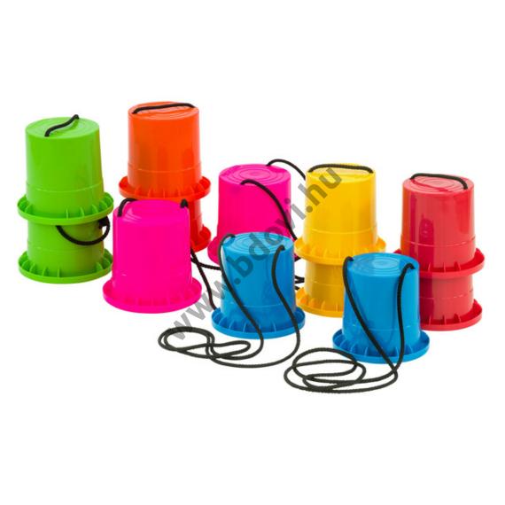 Futó dollyk műanyag 6 pár 6 színben