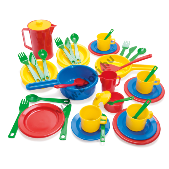 Dantoy konyhai eszközök készlet dobozban