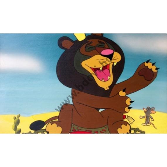 Az egér és az oroszlán