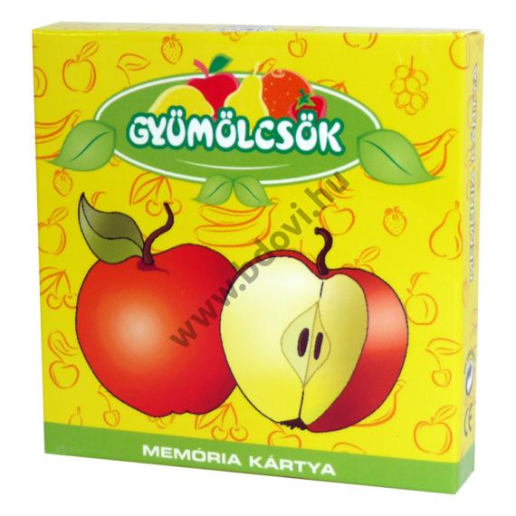 Memóriakártya: Gyümölcsök