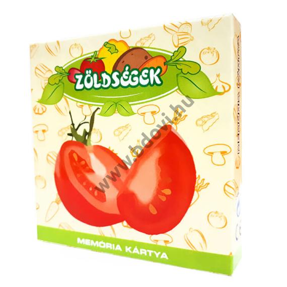 Memóriakártya: Zöldségek