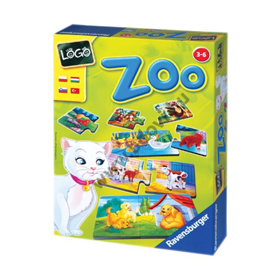 Logo Zoo - állatok és kölykeik