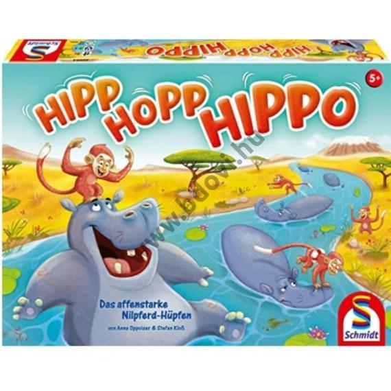 Hipp hopp hippó társasjáték