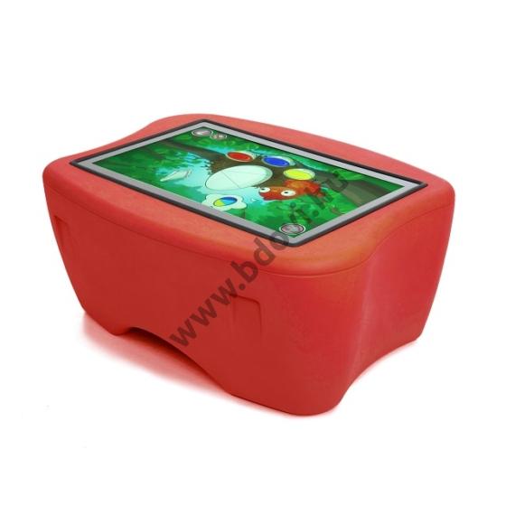 Manico interaktív játékasztal - piros