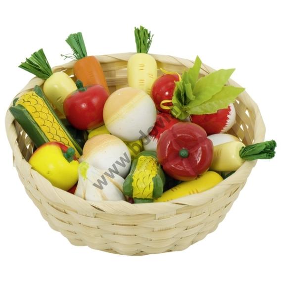 Zöldség kosárban – játék