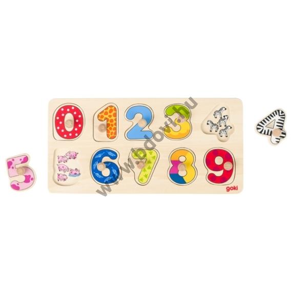 Fogantyús puzzle számolást segítő - GOKI