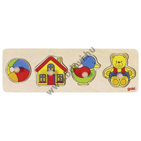 Fogantyús puzzle – 4 db-os