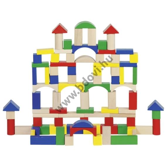 Építőkocka, kicsi - GOKI