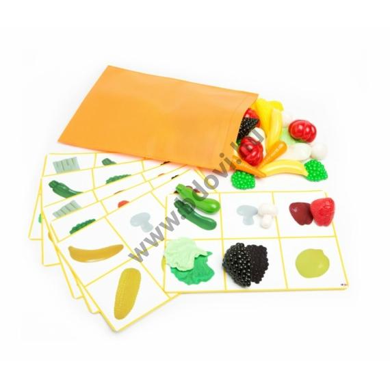 Fedezd fel a formákat! - zöldségek és gyümölcsök