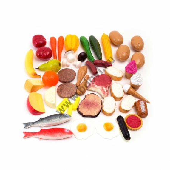 Műanyag élelmiszer készlet I.
