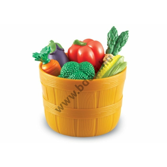 Zöldségek kosárkában