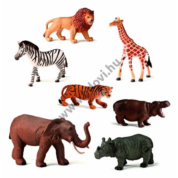 Dzsungel állatok, 7 figura