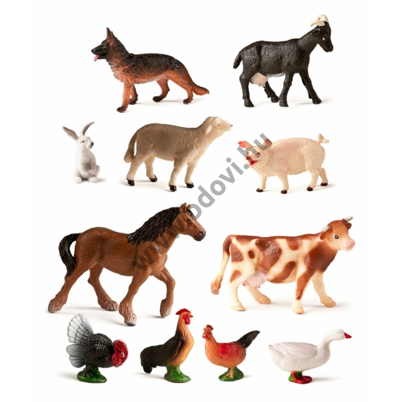 Farm állatok, 11 figura