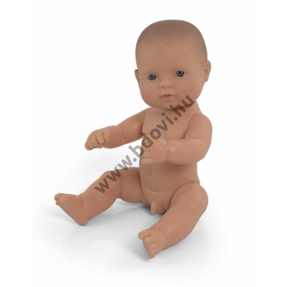 Baba, 32 cm, ruha nélkül, európai fiú