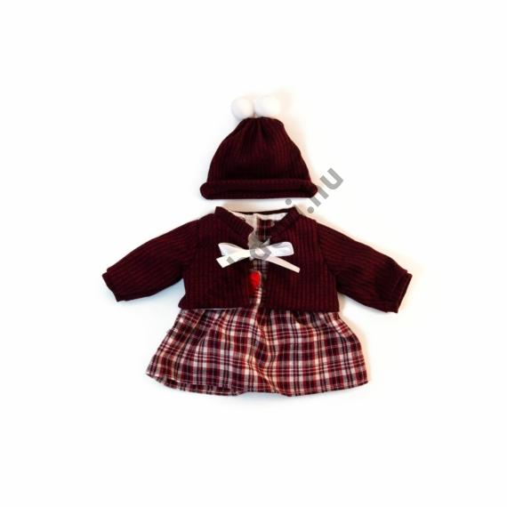 Téli ruha - 38-40 cm-es babához (lány)