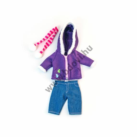 Téli ruha - 32 cm-es babához (fiú)