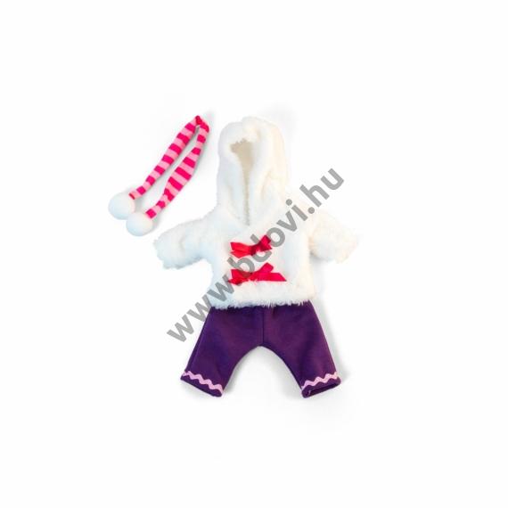 Téli ruha - 32 cm-es babához (lány)