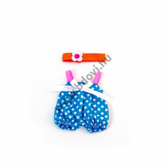 Nyári ruha - 21 cm-es babához