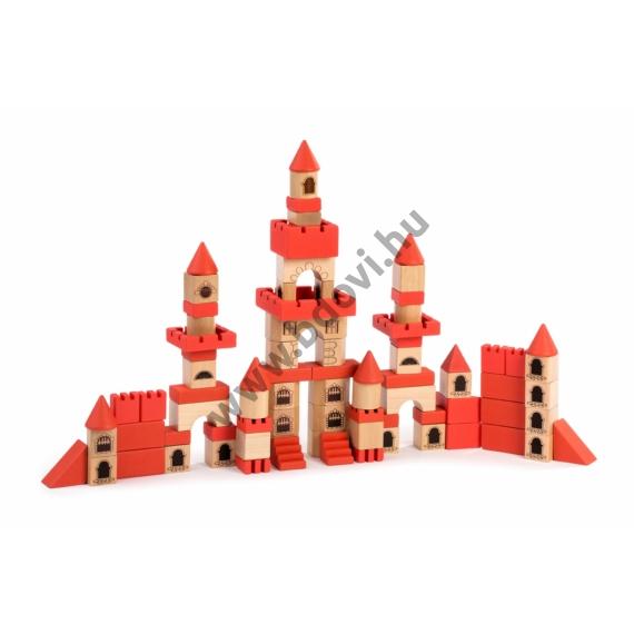 100 db-os kastélyépítő készlet