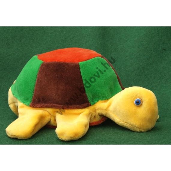 Ötujjas báb: teknős - gyerek kézre