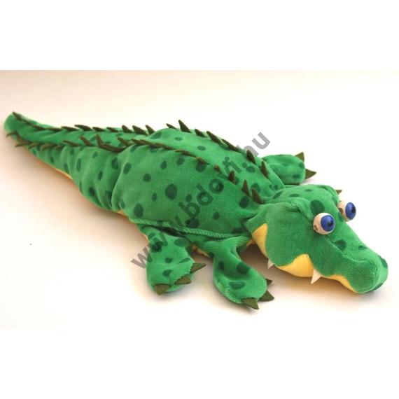 Ötujjas báb: krokodil - gyerek kézre