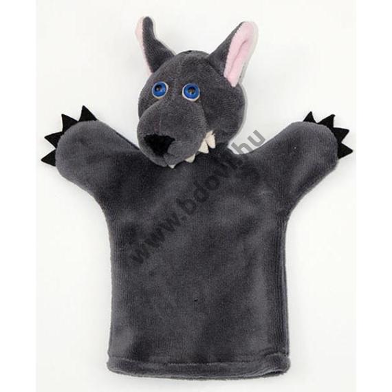 Háromujjas báb: farkas - gyerek kézre