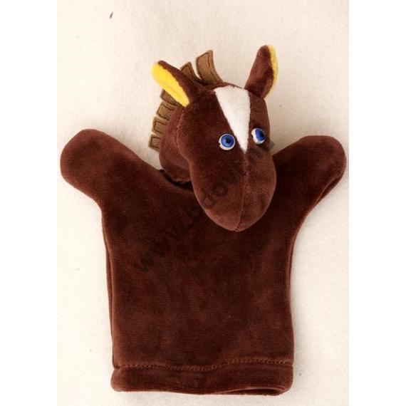 Háromujjas báb: ló - gyerek kézre