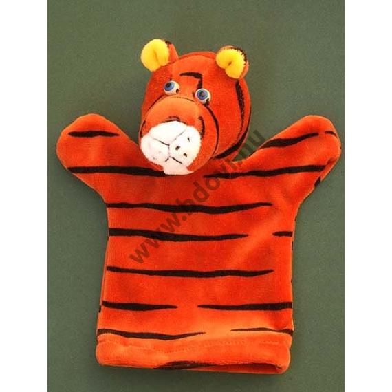 Háromujjas báb: tigris - gyerek kézre