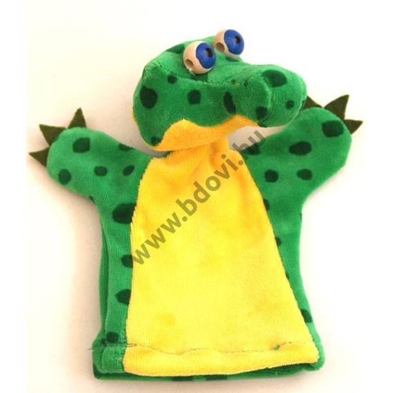 Háromujjas báb: krokodil - gyerek kézre