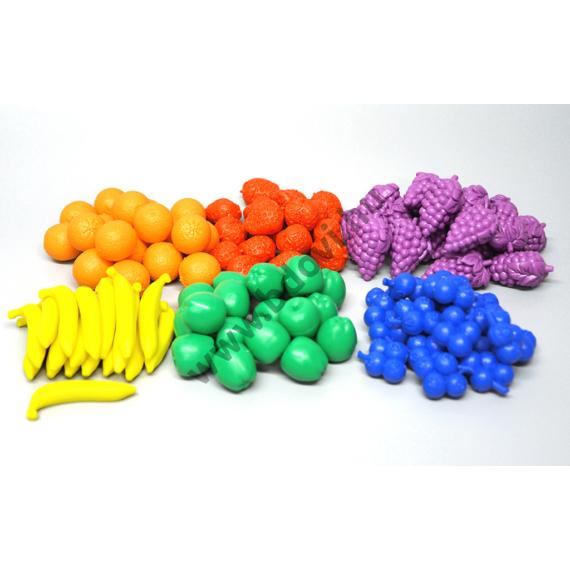 Szortírozó készlet gyümölcsök 108 db/készlet
