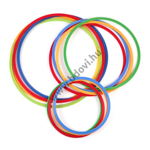 Műanyag karika - 60 cm, mozgásfejlesztő készlet kiegészítő elem