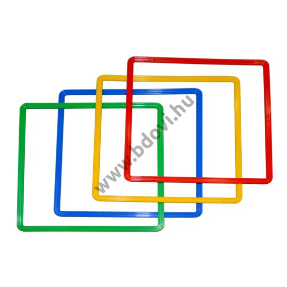 Műanyag négyzet - mozgásfejlesztő készlet kiegészítő elem