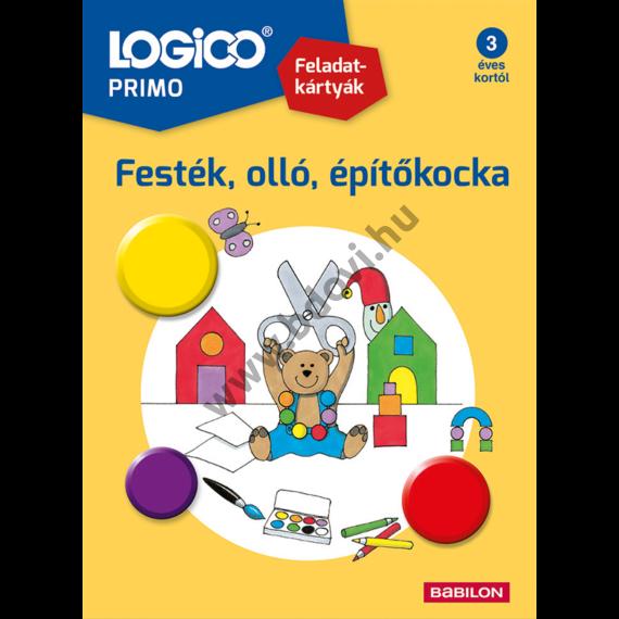 Logico PRIMO: Festék, olló építokocka