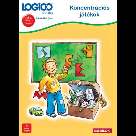 Logico PRIMO: Koncentrációs játékok