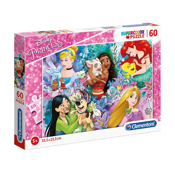Disney Hercegnők és kedvenceik puzzle 60 db-os