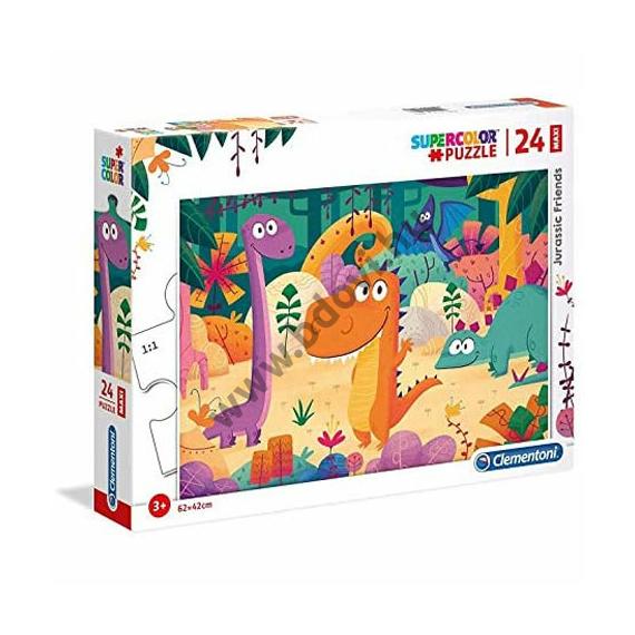 Dinoszaurusz barátok 24 db-os maxi puzzle