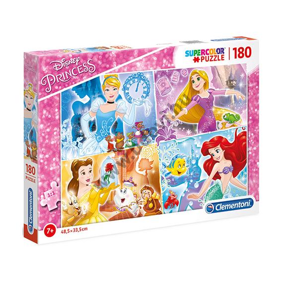 Disney Hercegnők Supercolor puzzle 180 db-os