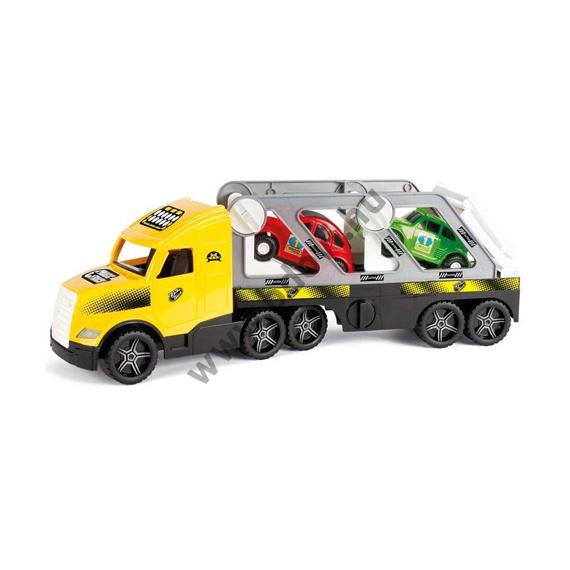 Autószállító kamion fluoreszkáló lámpákkal 81 cm