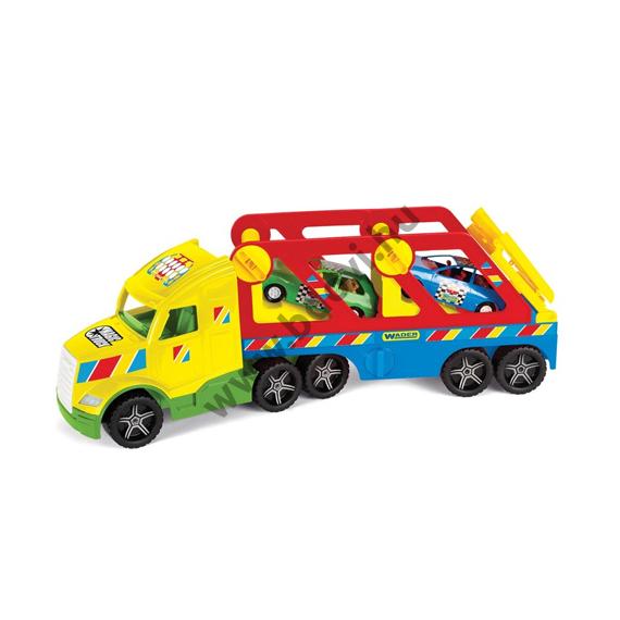 Autószállító színes kamion 79 cm