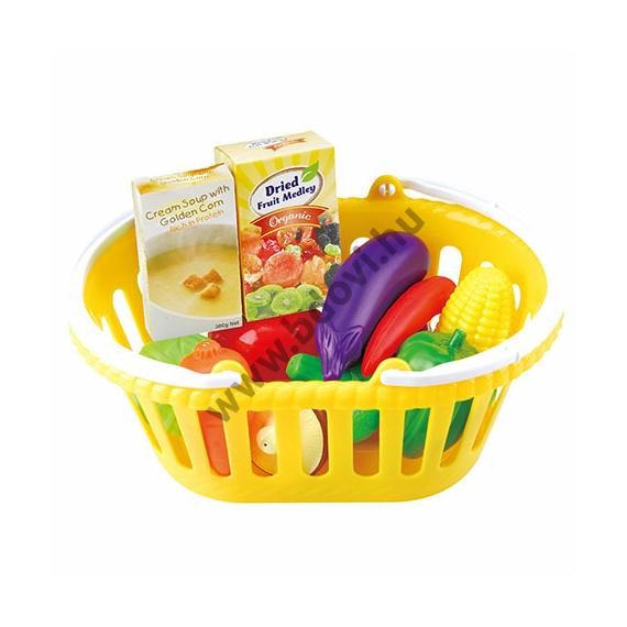 Zöldségkészlet kosárban 13 db-os