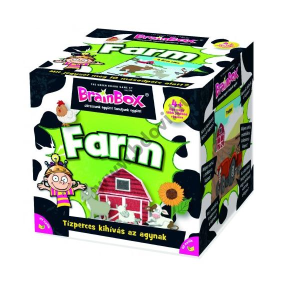 Farm társasjáték - Brainbox