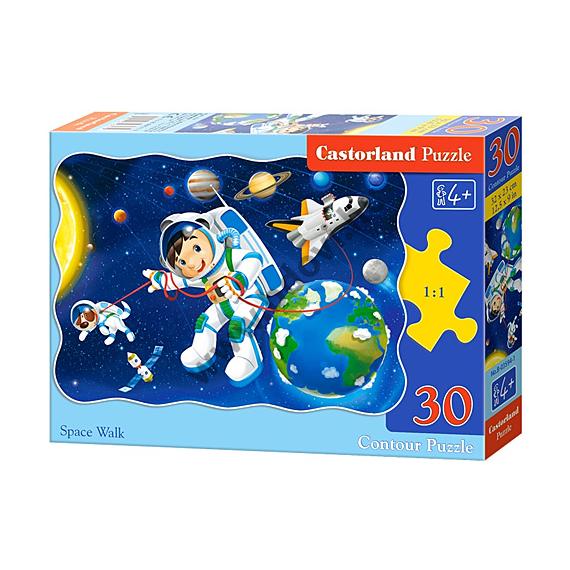 Űrséta 30db-os puzzle