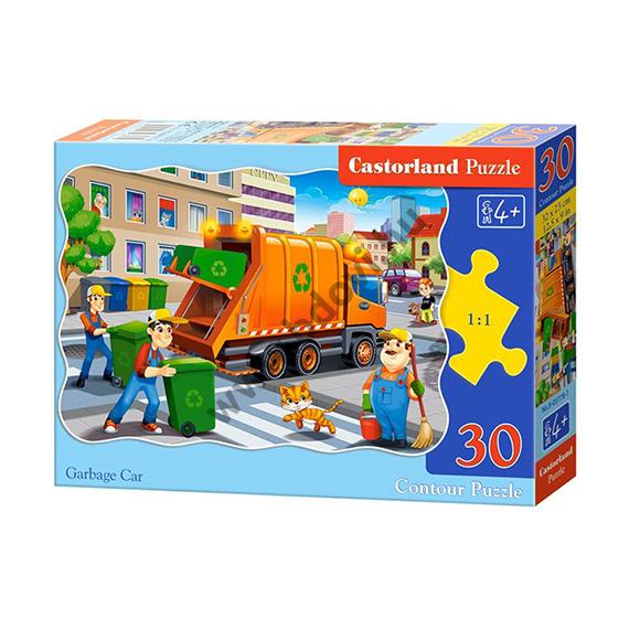 Kukásautó 30db-os puzzle