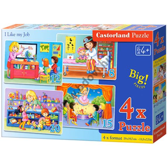 Szeretem a munkám 4 az 1-ben puzzle