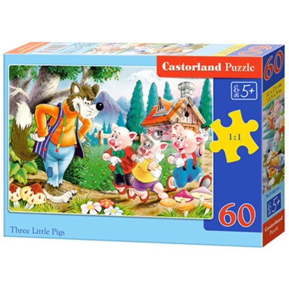 A három kismalac 60db-os puzzle