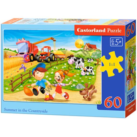 Nyár a farmon 60db-os puzzle